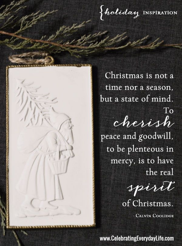 Cherish Peace, An Inspiring Christmas Quote Peace quotes