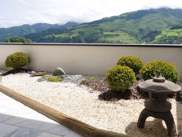 Steingarten Auf Einer Dachterrasse, (c) Harmonie Im Garten ... Garten Auf Der Dachterrasse