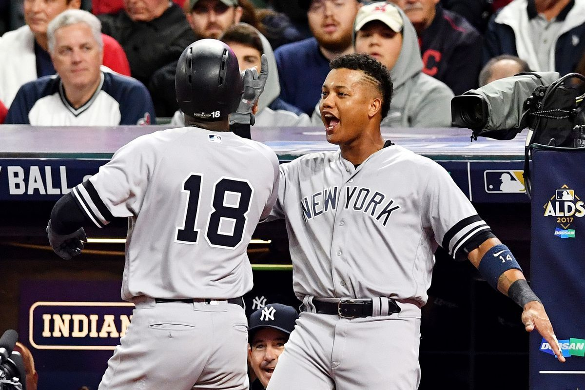 3 Things We Learned From The Yankees Win Over The Indians In The Alds New York Yankees Baseball Playoffs Baseball Boys