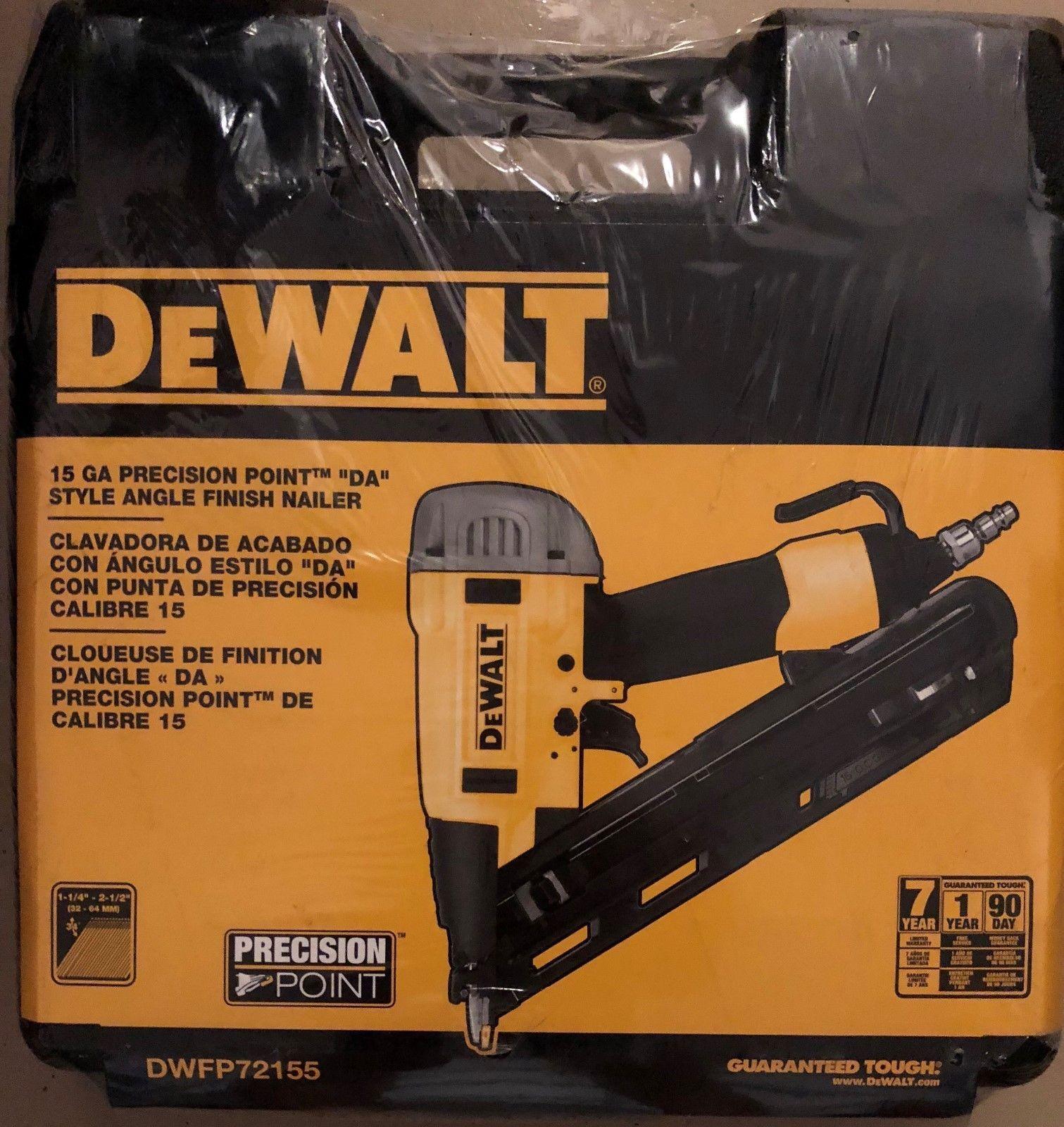 Other Air Tools 184653 Dewalt 15 Gauge Precision Point Finish Nailer Buy It Now Only 129 99 On Ebay Finish Nailer Dewalt Nailer