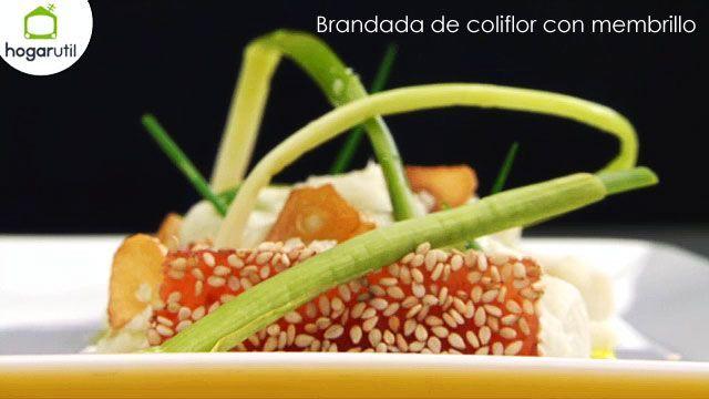 Brandada de coliflor con membrillo #vegan