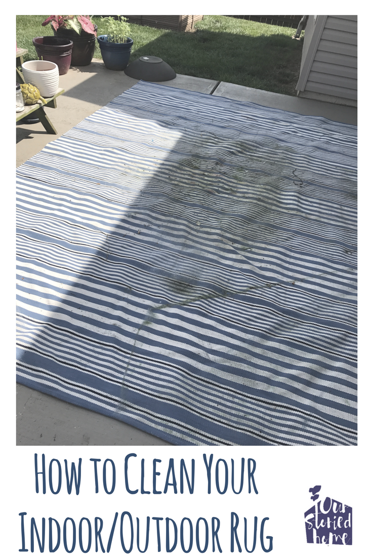 Cleaning Your Indoor Outdoor Rug Our Storied Home