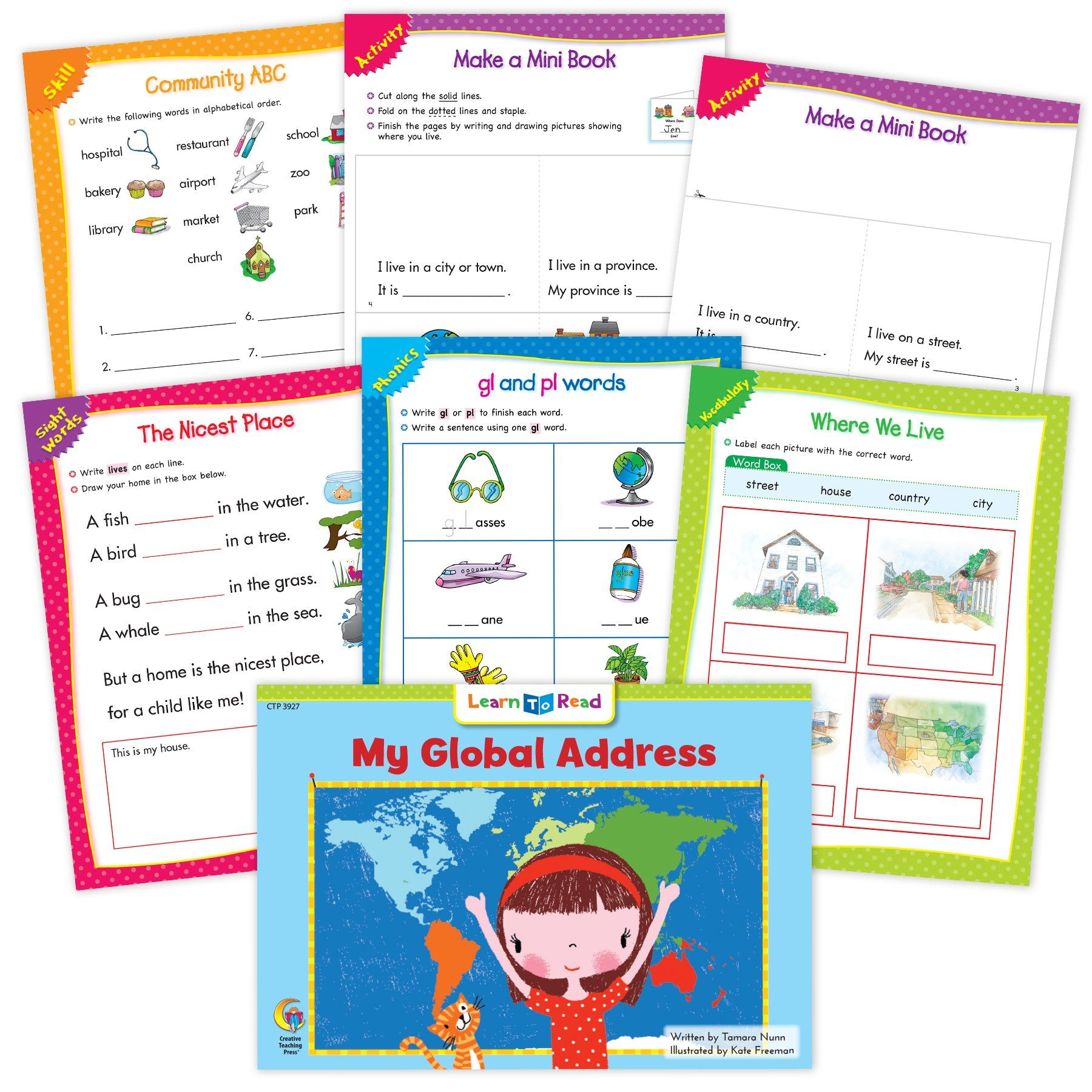 My Global Address Worksheets In