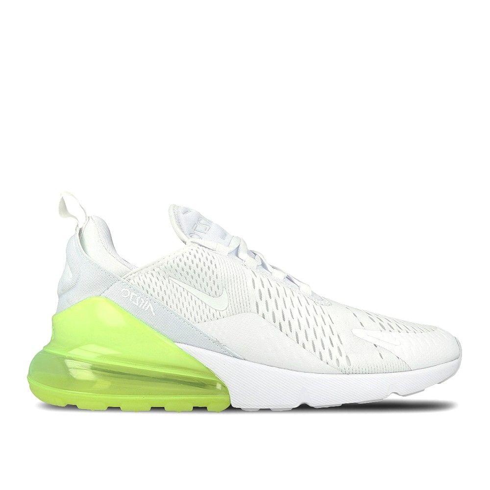 air max 270 blanche et vert fluo