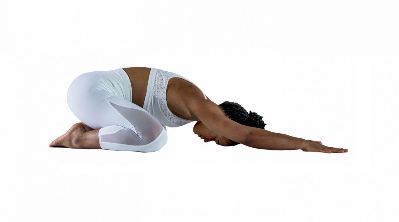 How to: Child's Pose • Balasana Yoga Poses with YogaToday | Yoga ...