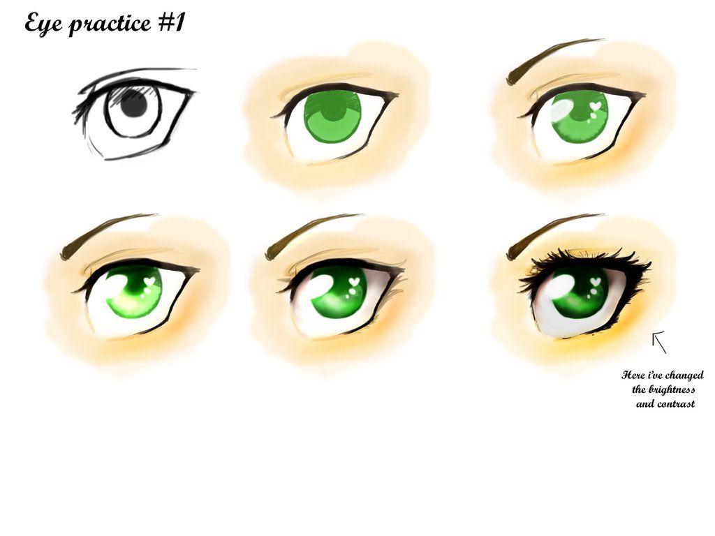 Eye practice #1 by Komodo-Dragon-Queen on DeviantArt