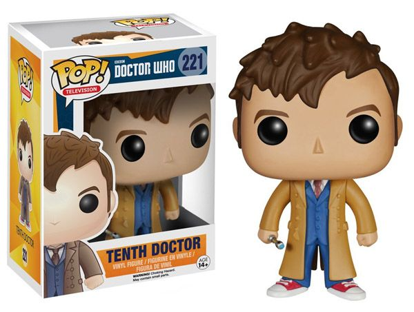 Doctor Who 10th Doctor Pop Vinyl Figure Pop Vinyl Figures Tenth Doctor Vinyl Figures