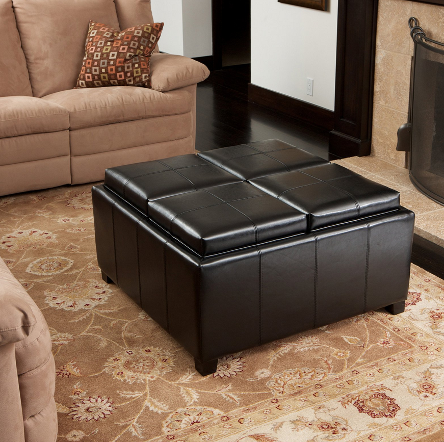 Leather Coffee Table Storage Ottoman Products Storage Ottoman Coffee Table Square Storage Ottoman Leather Ottoman