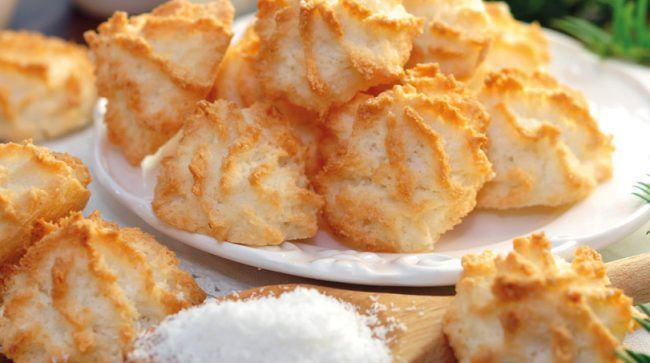 Weihnachtsplätzchen Kokosmakronen.Schuhbecks Kochclub Weihnachtliches Backen Kokosmakronen Backen