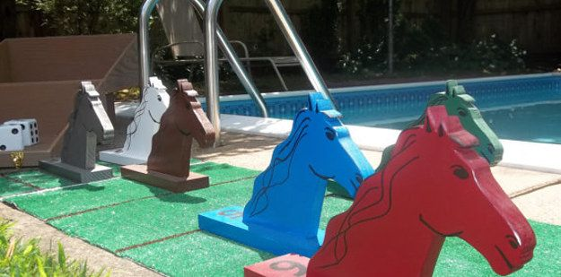 Giant Horse Race Derby | Outdoors Fun | Horse race game