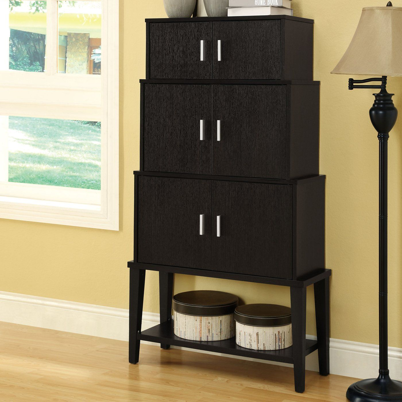 Monarch Specialties I 2547 Stacking Style Storage