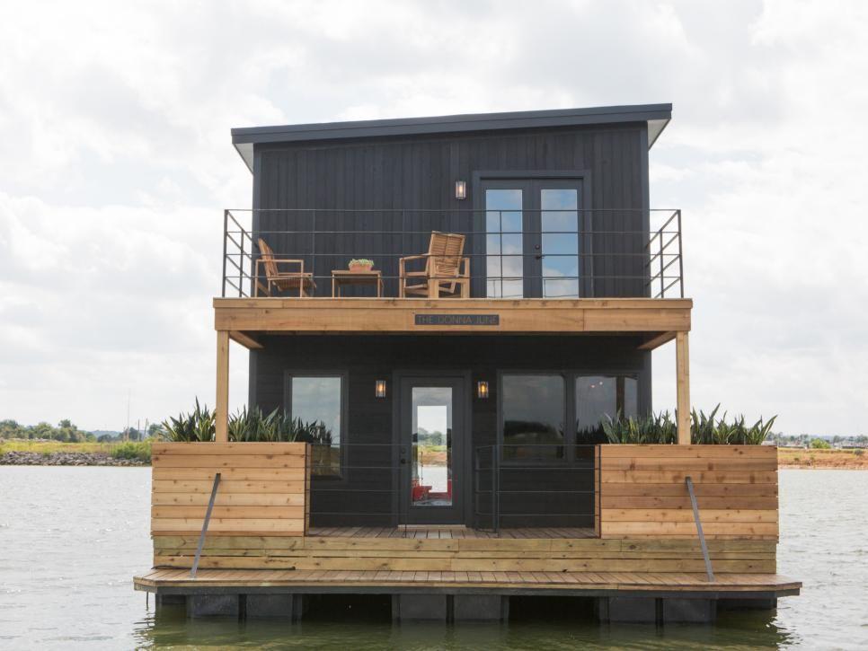 Fixer Upper It Floats Houseboat Living Fixer Upper House House Boat