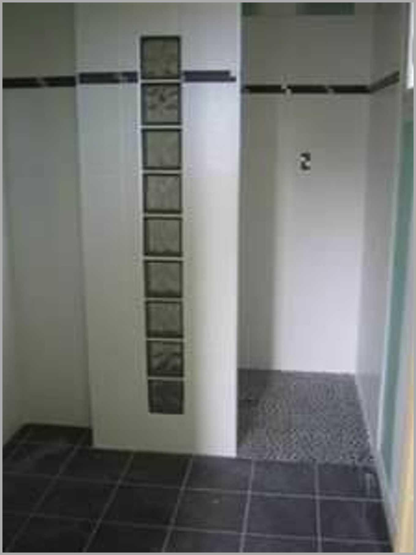 Mur Salle De Bain Brique De Verre Recherche Google Cloison Douche Salle De Bains Brique Et Idee Deco Toilettes