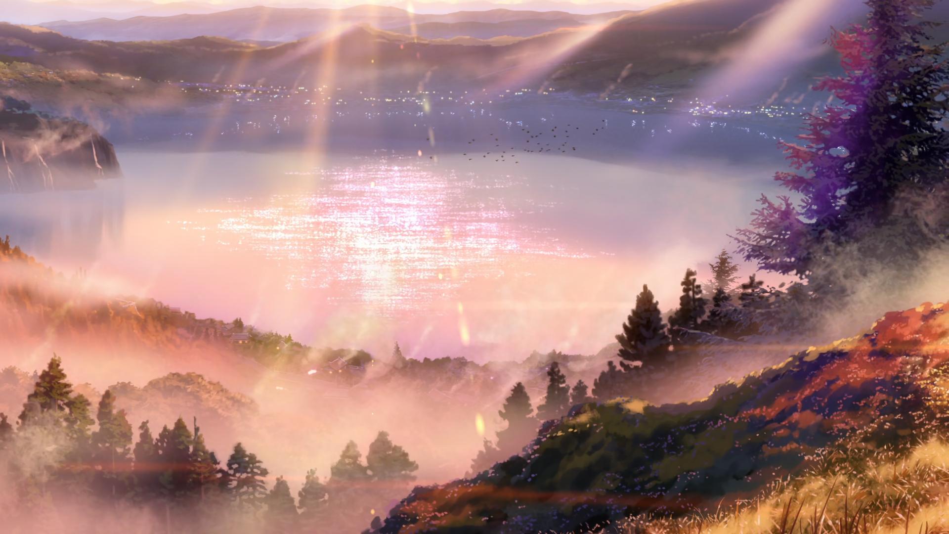 Ő›ã®åã¯ Your Name An Art Showcase Of 110 Wallpaper Worthy Scenes 1080p Cenario Anime Fotografia De Paisagem Lindas Paisagens