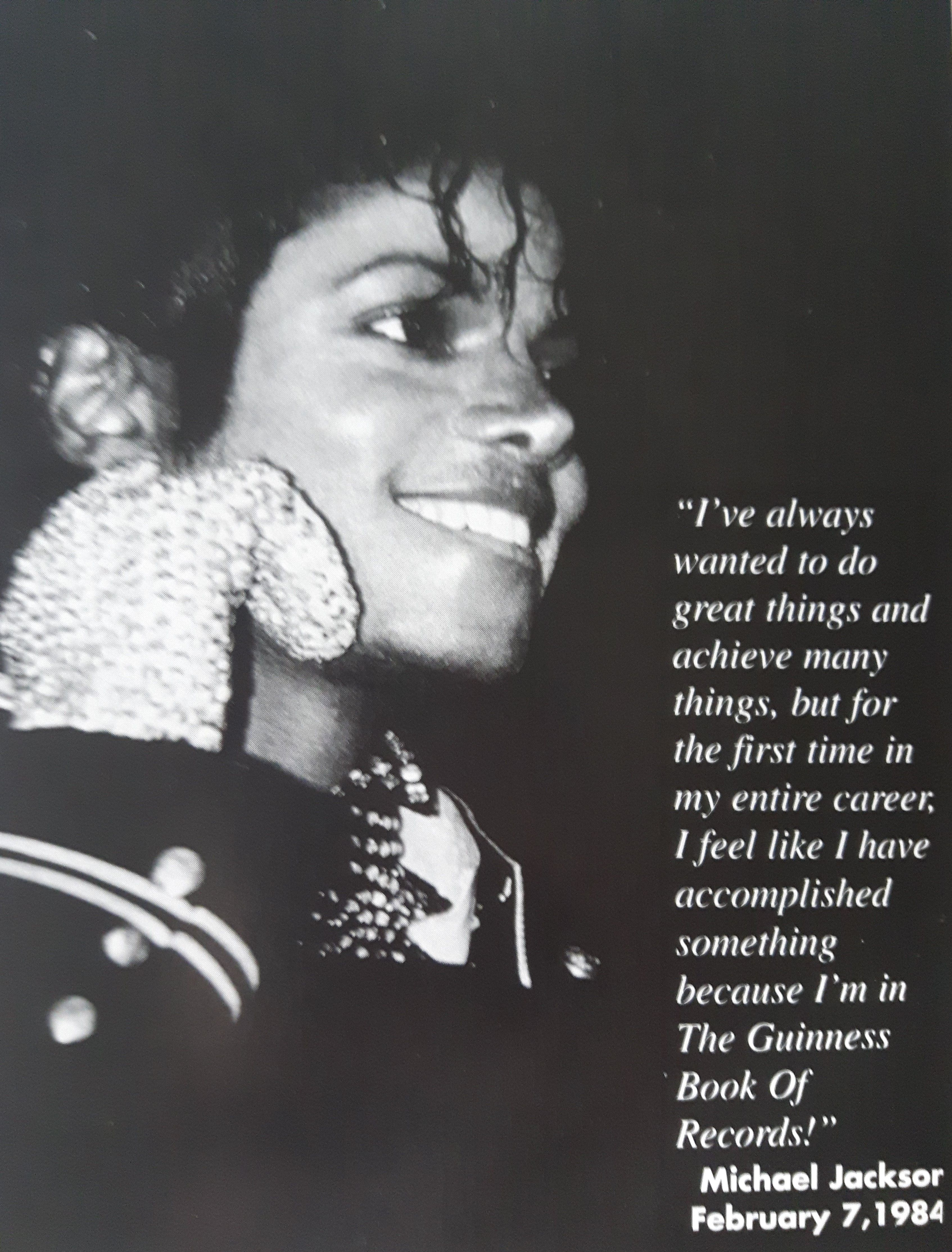 """The Greatest of All Time ♥ My scan from """"Michael Jackson -- A Visual Documentary"""""""