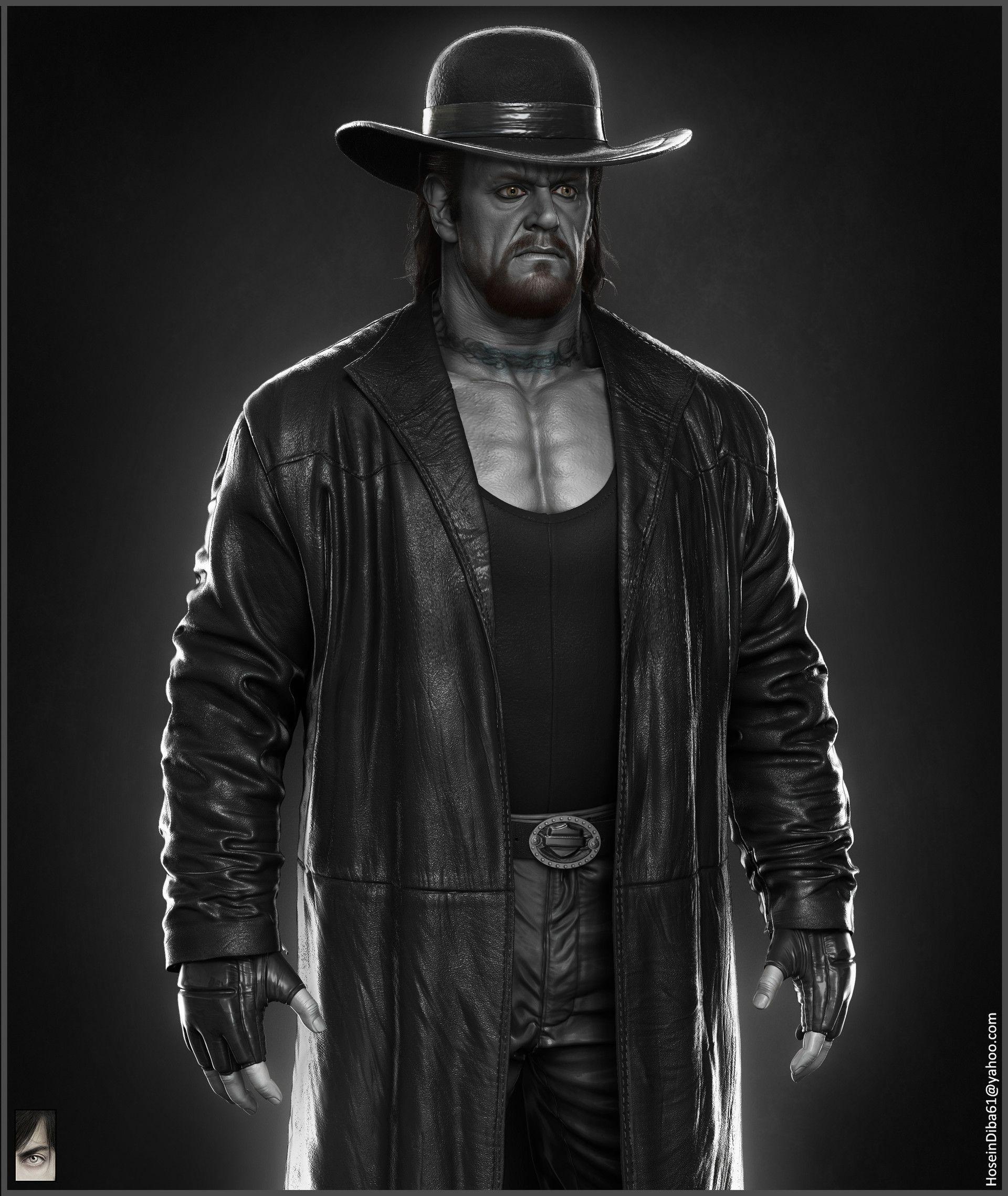 Wwe Wrestlers Undertaker ArtStation - Th...