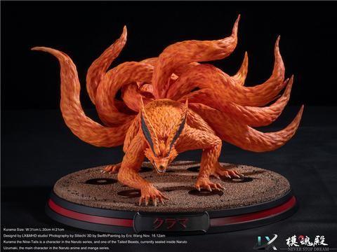 Tailed Beasts 001 Kurama Naruto Lx Mhd Studios In Stock