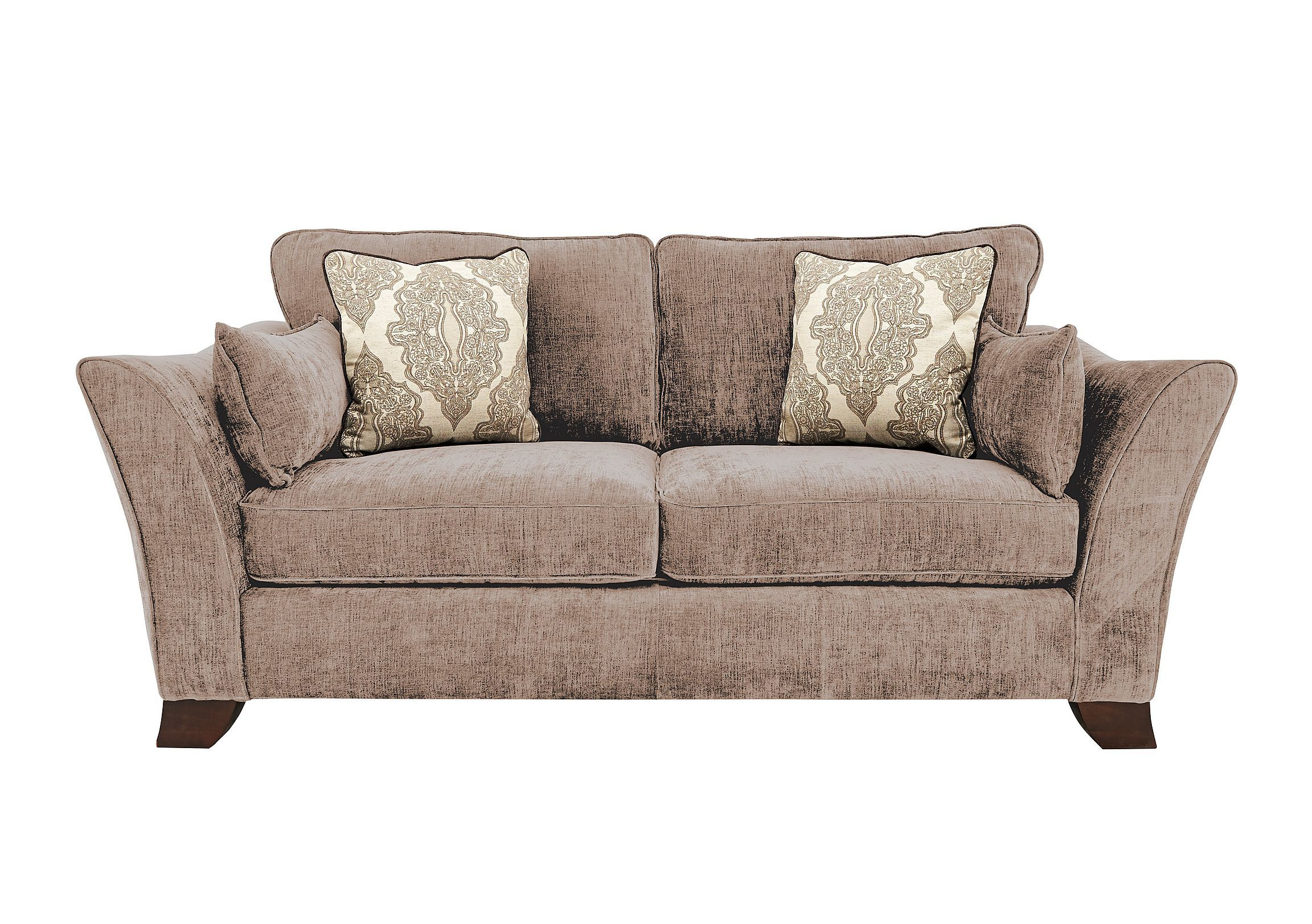 Great Style At A Great Price 3 Seater Classic Back Sofa Choice Of Soft Neutral Fabrics Furniture Village Luxury Sofa Modern Fabric Sofa