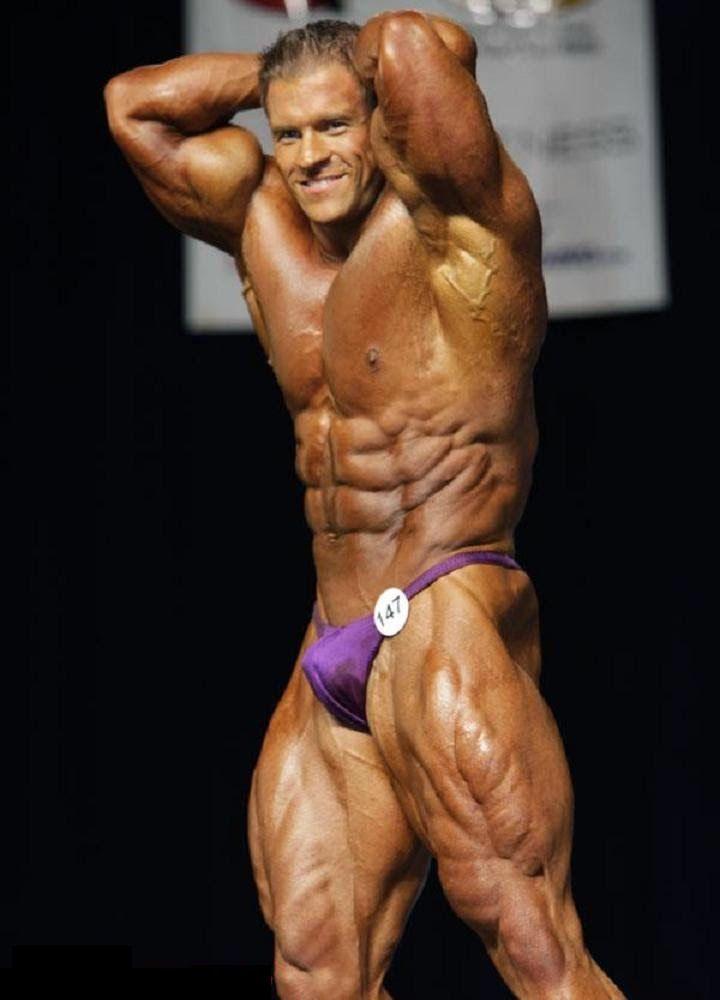 Brasilianischer Bodybuilder