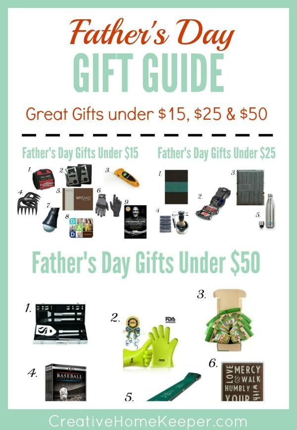 Looking for the perfect gift for dad? This ultimate Father's Day gift guide contains gifts for all budgets including DIY homemade gifts to prices ranging from $