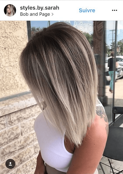 Ideas to go blonde , short icy ombre