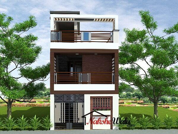 Double storey elevation two house  front view duplex design also uttam kuila uttamkuila on pinterest rh