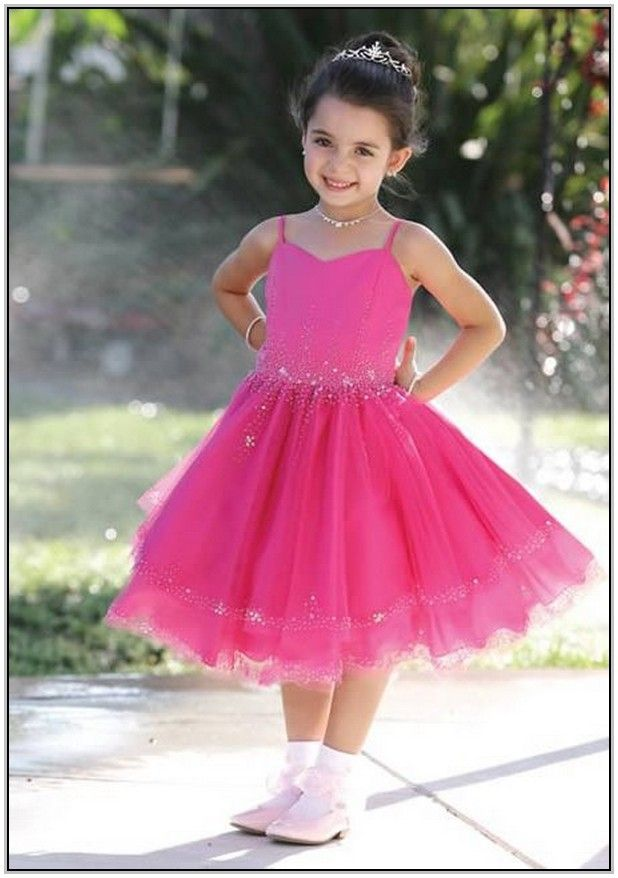 Pink Bridesmaid Dresses For Children | Top 50 Junior and Childrens ...