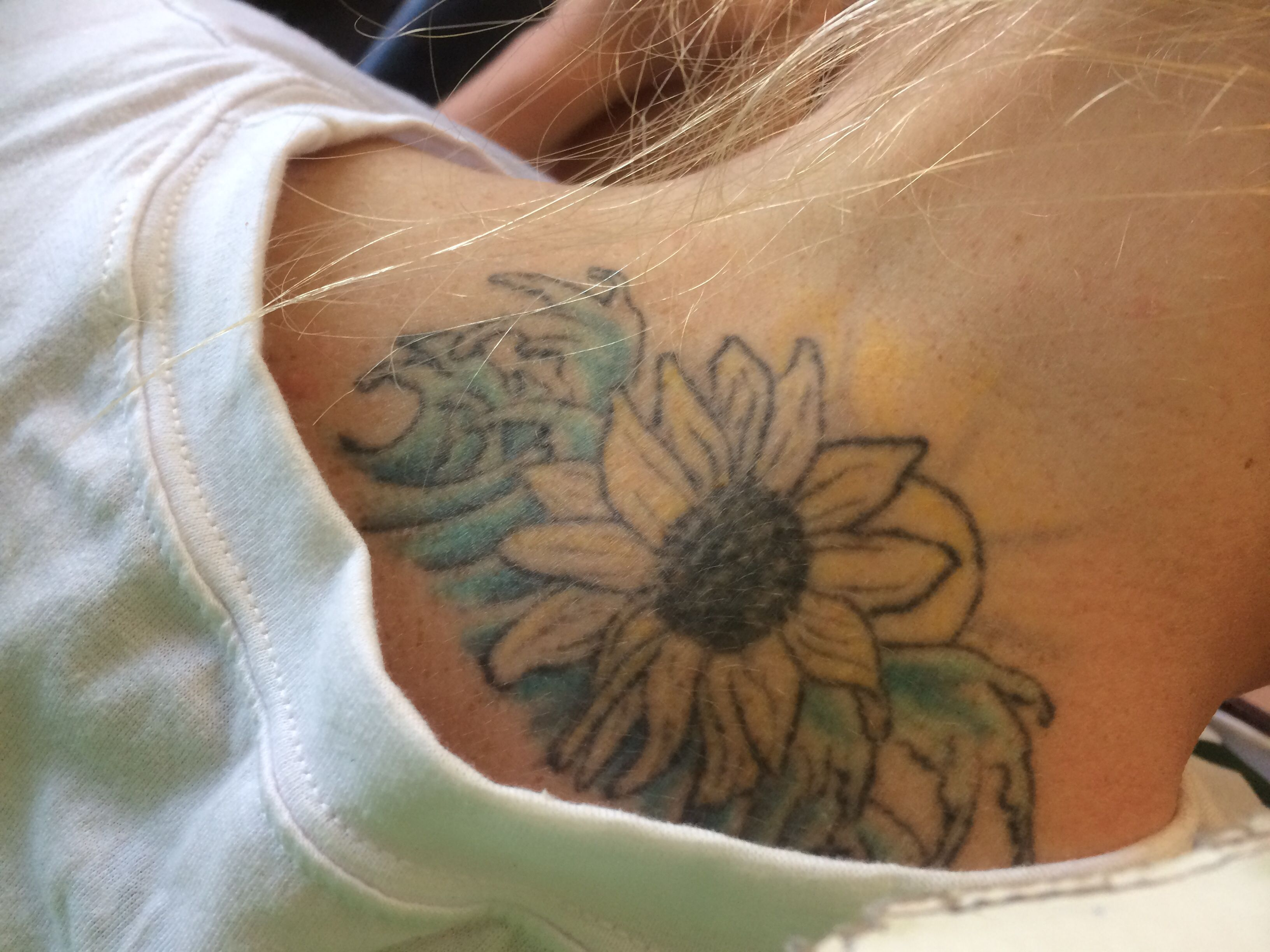 2009 This needs to be touched up! Sunflower 🌻 with waves🌊🌊 ...