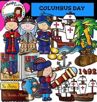 Columbus Day Clip Art Color And Black White 45 Items Clip Art Art Day Black And White