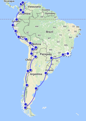 Photo of 4 Months in South America: Itinerary and Budget