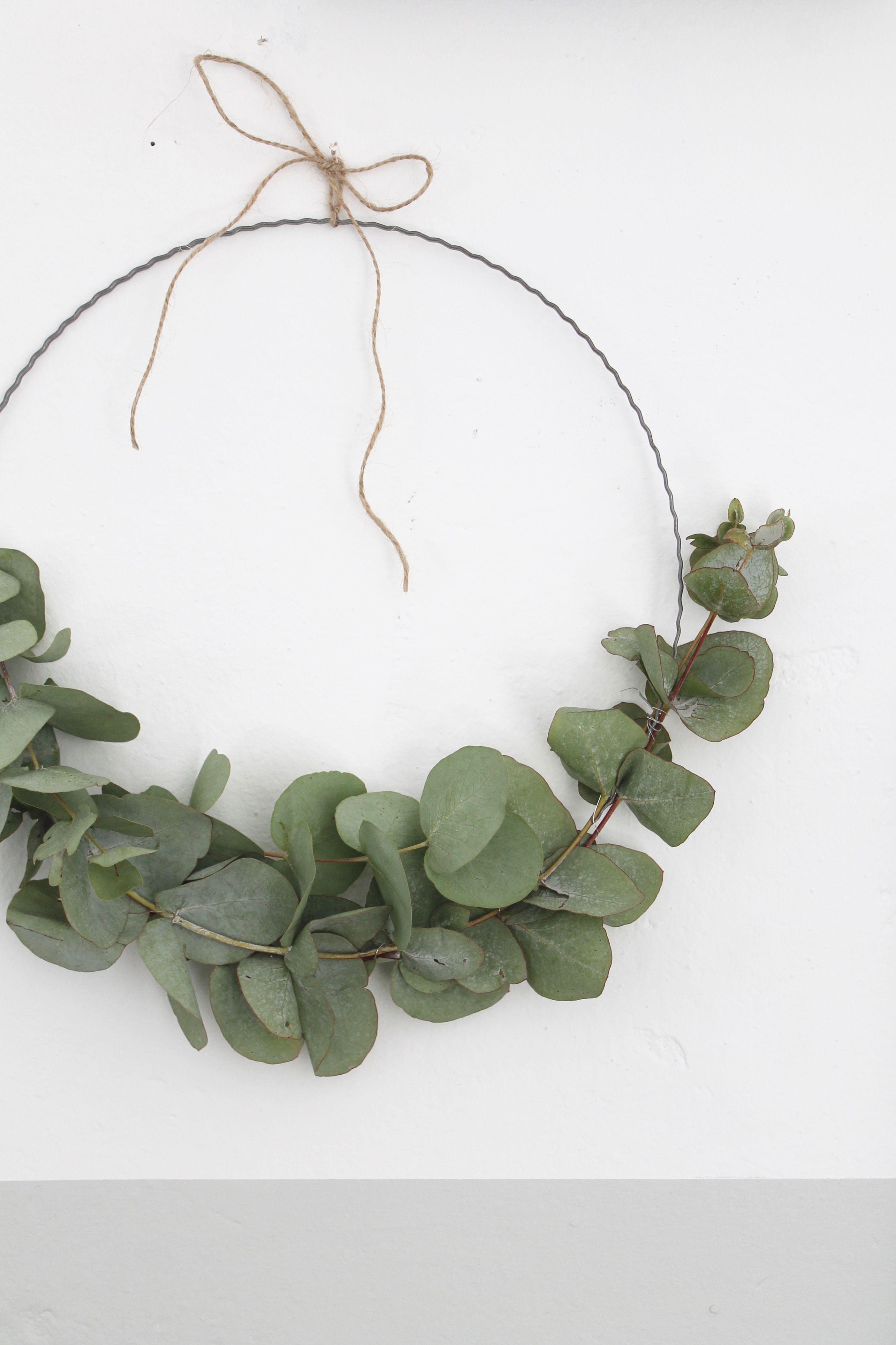 Photo of Eucalyptus wreath … the must have # eucalyptus # wreath # flowers # wreath # ring
