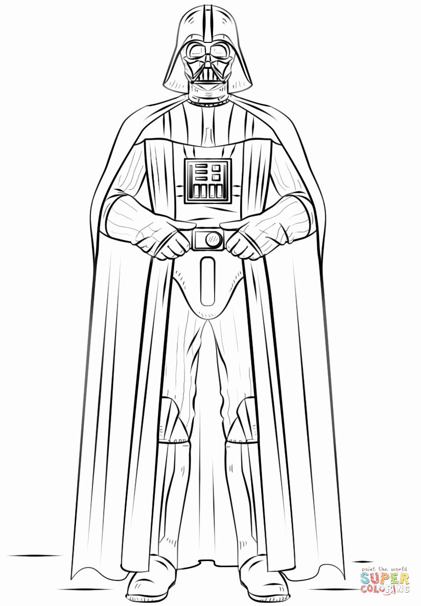 Lego Darth Vader Coloring Pages Inspirational Darth Vader Coloring Page In 2020 Star Wars Drawings Star Wars Colors Star Wars Coloring Sheet