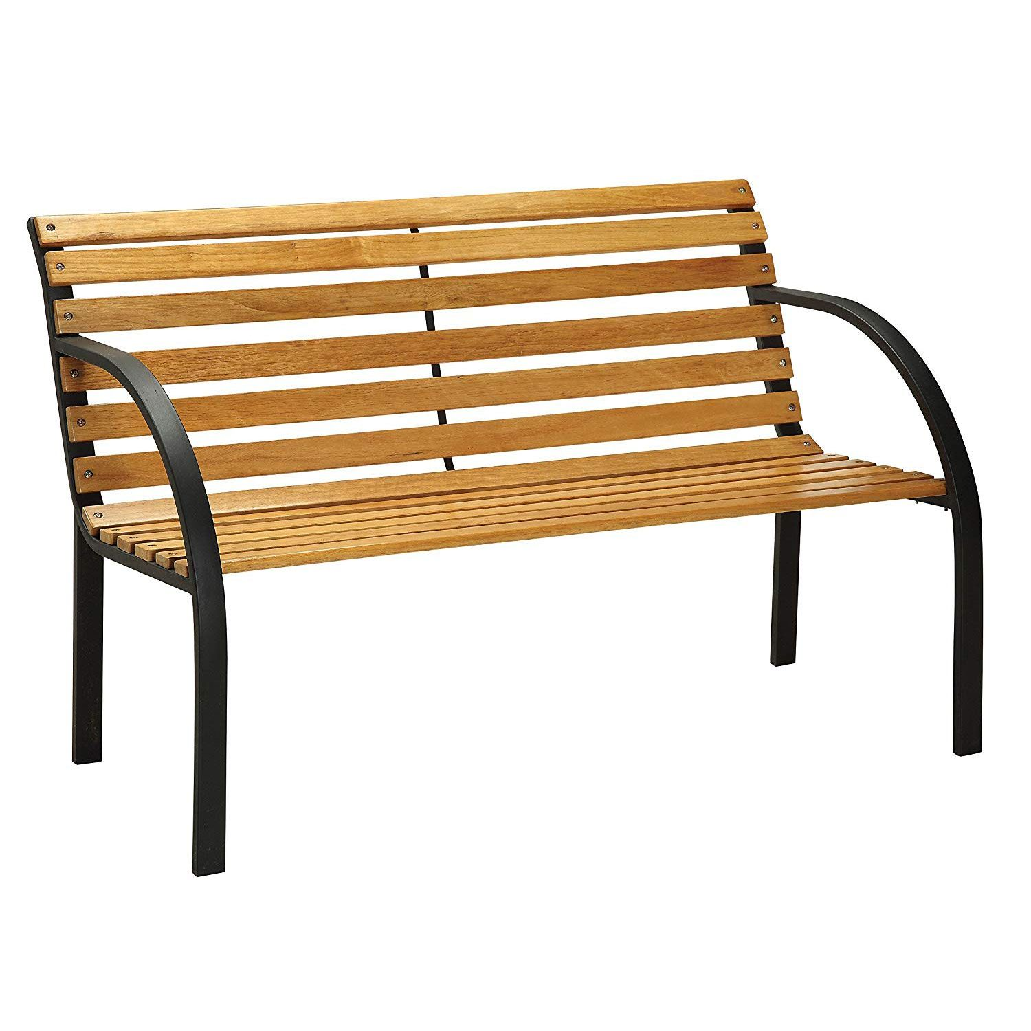 Patio Garden In 2020 Patio Bench Curved Wood Furniture