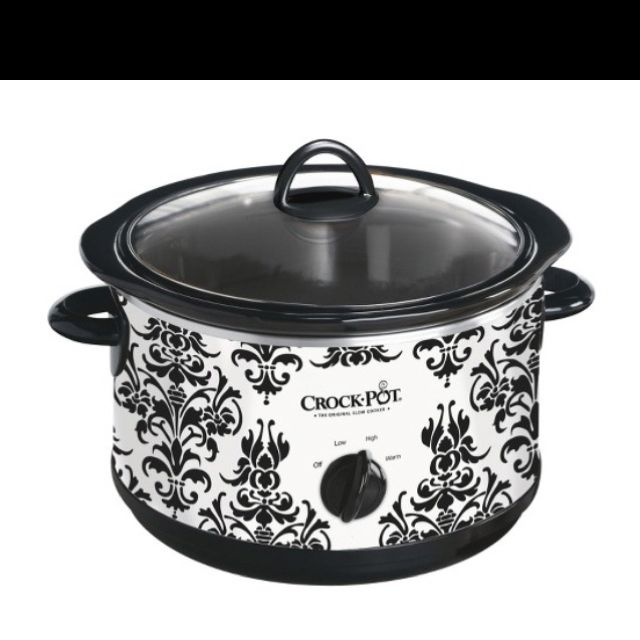 I bought a crock pot!!! And it's beautiful :)