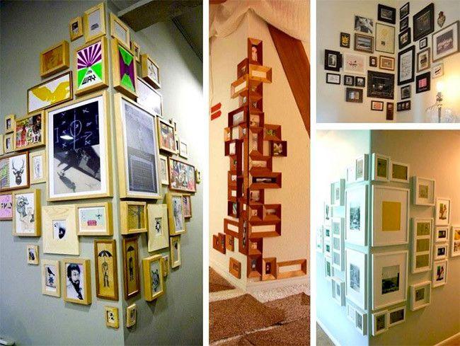 Composici n de cuadros en esquina decoration ideas - Composicion de cuadros ...