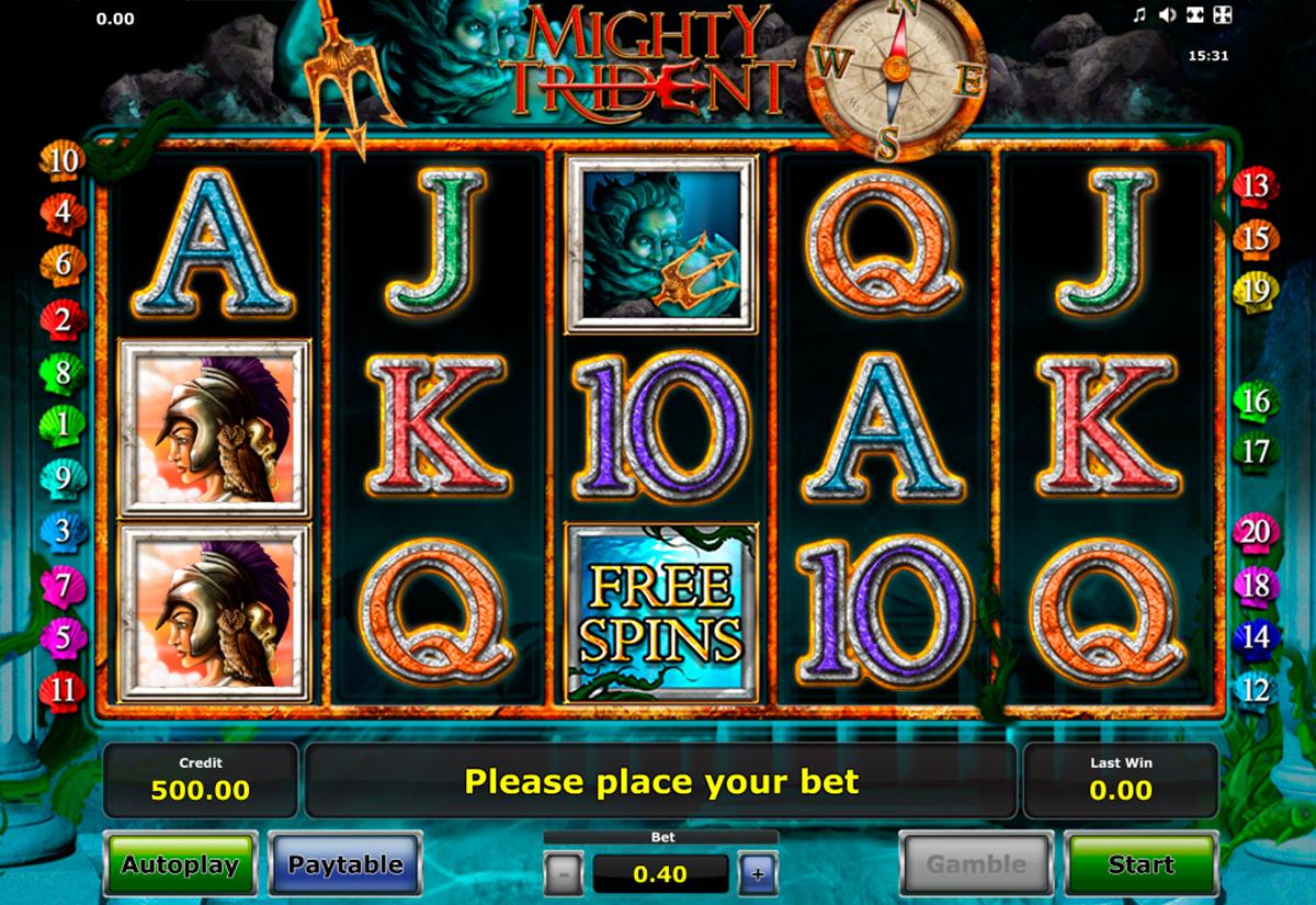 Mighty Trident Casino Treasure Island Slots Games