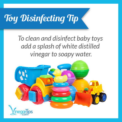 Toy Disinfecting Tip To clean and disinfect baby toys