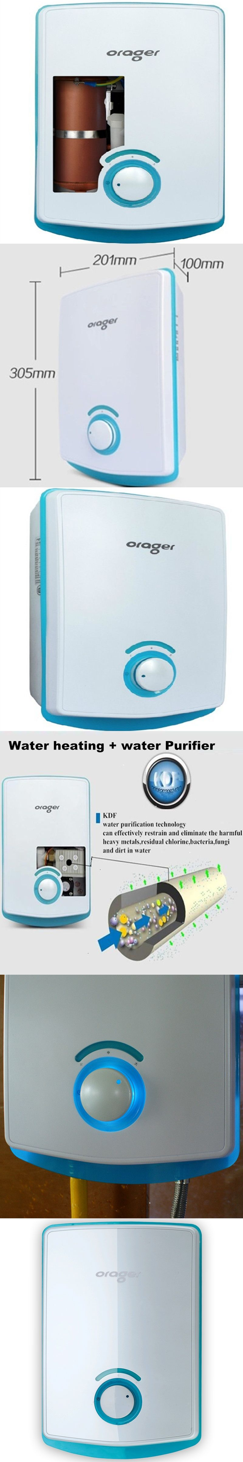 Instant water heater tap Mini Instantaneous Induction Hot Electric ...
