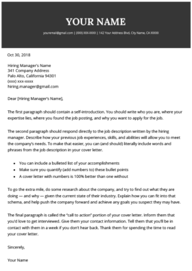 Pin On Cover Letter Templates