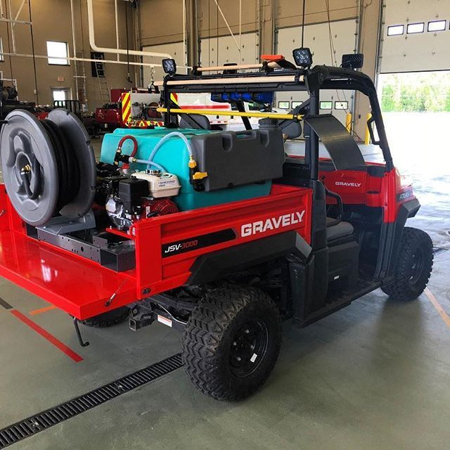 Check Out This Awesome Gravely Atlas Jsv Outfitted With