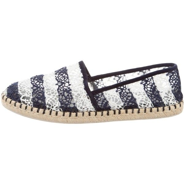 1a802991638 Pre-owned Louis Vuitton Striped Espadrilles ($280) ❤ liked on ...