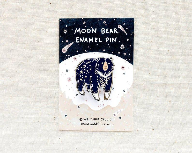 Polar Bear Image Design Metal Pin Badge