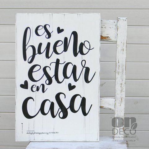 Sweet Home Cuadros Vintage Con Frases Letreros De Madera