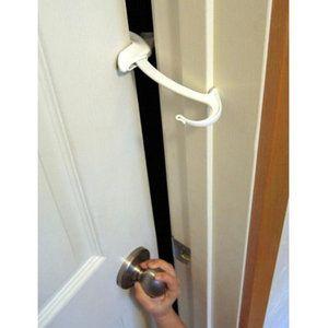 Door Monkey Childproof Door Lock And Pinch Guard Baby Proofing Doors Child Proofing Doors Door Monkey