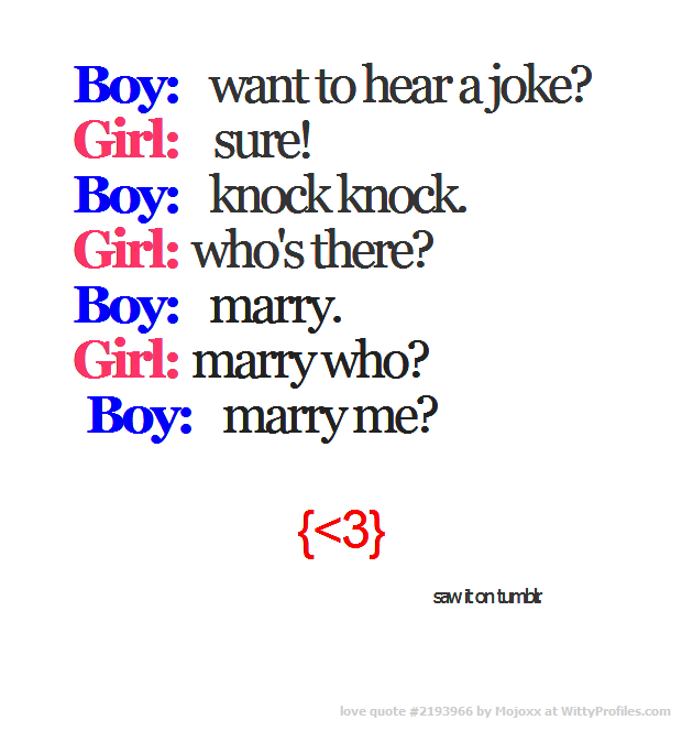 Boy Want To Hear A Joke Girl Sure Boy Knock Knock Girl