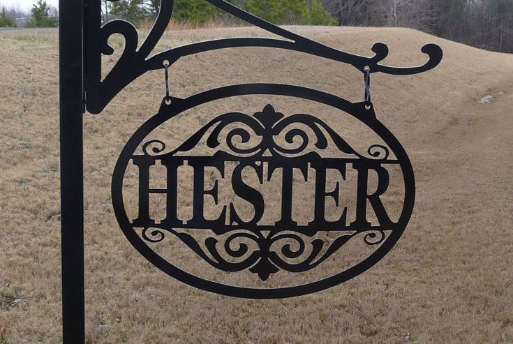 Custom Metal Decorative Signs Impressive High Quality Outdoor Decorative Signs #13 Decorative Metal Name Inspiration Design