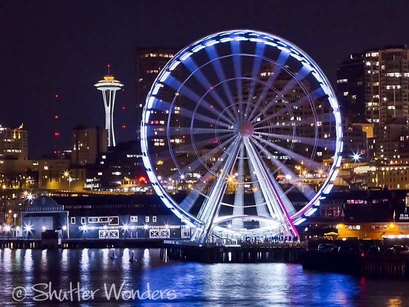 Seattle S Great Wheel The E Needle In 2019