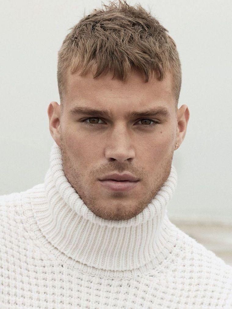Peinados hombre modernos y originales para el invierno 2018 Man - Peinados Modernos Para Hombres