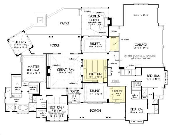 Gourmet Kitchen House Plans House Plans With Gourmet Kitchens Ipefi ...