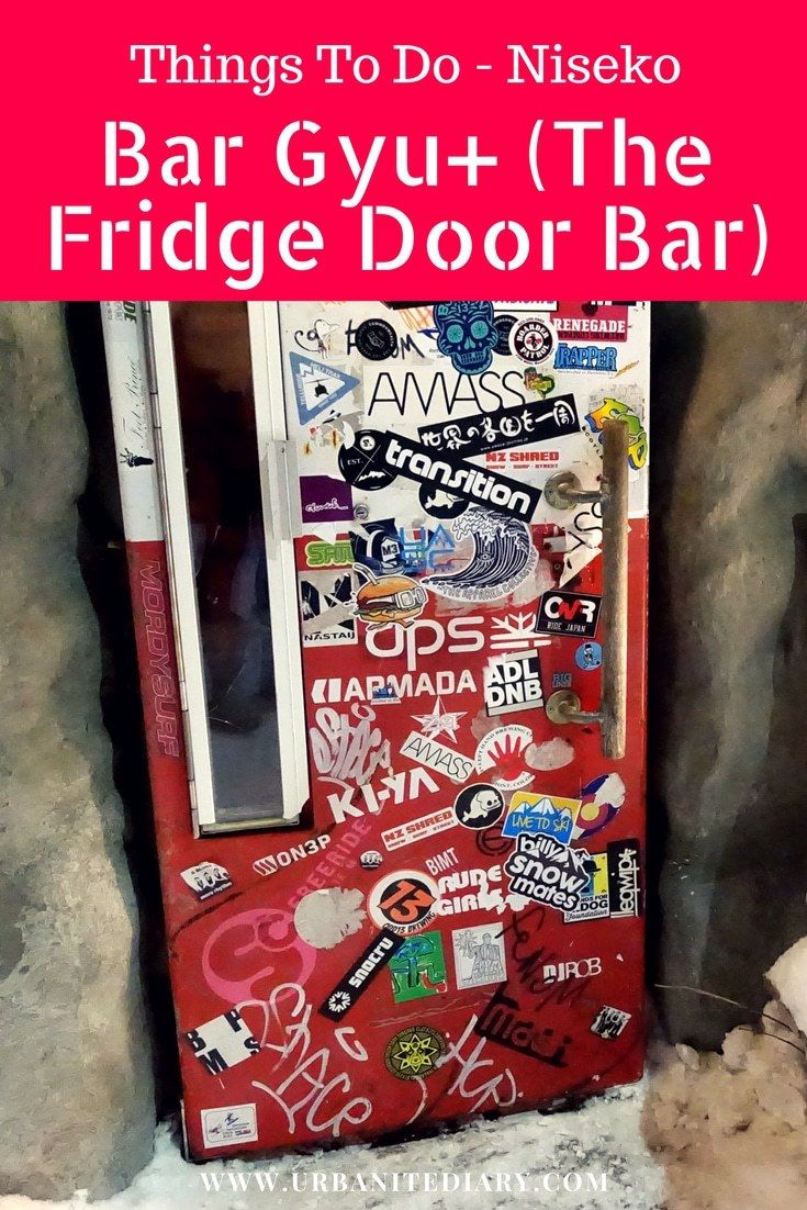Bar Gyu+ (a.k.a. The Fridge Door Bar)